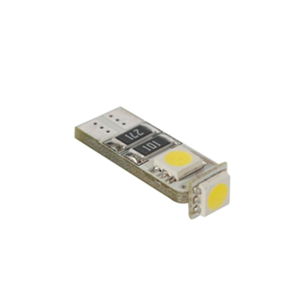 DIODY T10 W5W 3 LED CANBUS, KOMPLET