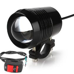 LAMPY MOTOCYKLA Lampa LED U2 z przełącznikiem